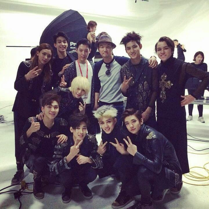 [PHOTO] 150710 Seventeen '17 Carat' Photoshoot BTS