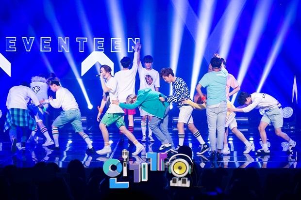 [OFFICIAL] 150717 SBS Inkigayo Update 11P #Seventeen #Adore_U #세븐틴 #아낀다 2