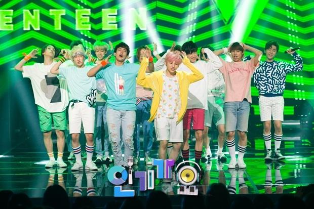 [OFFICIAL] 150717 SBS Inkigayo Update 11P #Seventeen #Adore_U #세븐틴 #아낀다 4