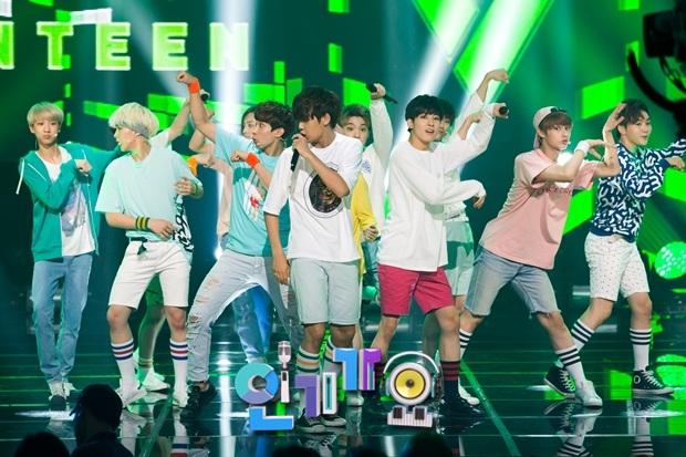 [OFFICIAL] 150717 SBS Inkigayo Update 11P #Seventeen #Adore_U #세븐틴 #아낀다 5