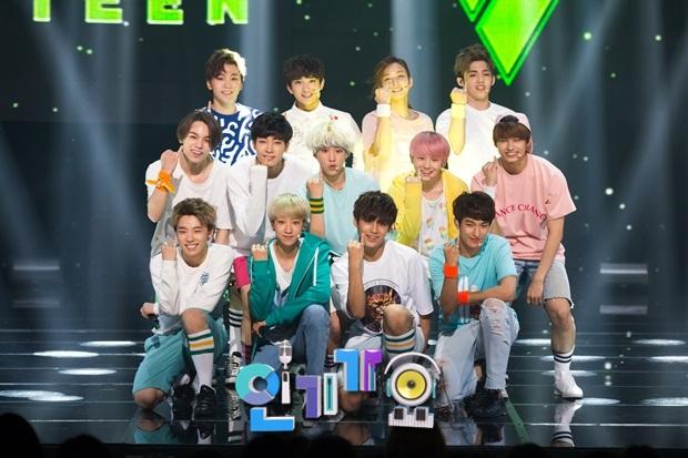 [OFFICIAL] 150717 SBS Inkigayo Update 11P #Seventeen #Adore_U #세븐틴 #아낀다 8