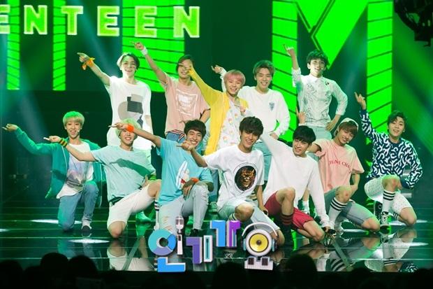 [OFFICIAL] 150717 SBS Inkigayo Update 11P #Seventeen #Adore_U #세븐틴 #아낀다 9