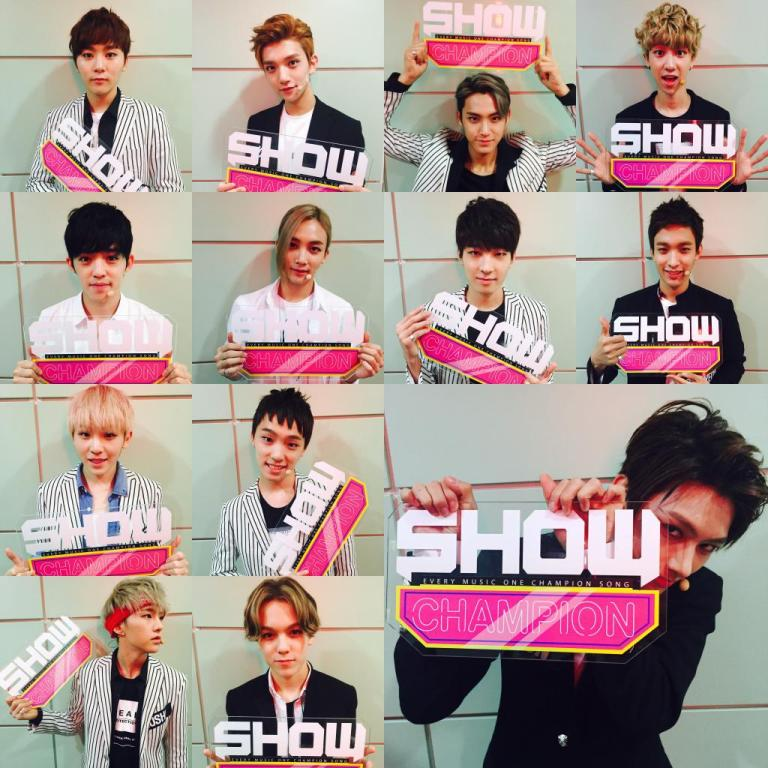 [OFFICIAL] 150915 MBC Show Champion Twitter Update #세븐틴 2