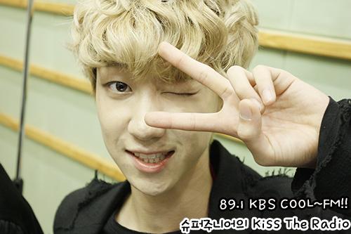 [OFFICIAL] 150917 KBS Kiss The Radio Update (Sukira) w Seventeen  #세븐틴 #SEVENTEEN 10
