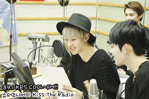 [OFFICIAL] 150917 KBS Kiss The Radio Update (Sukira) w Seventeen  #세븐틴 #SEVENTEEN 21