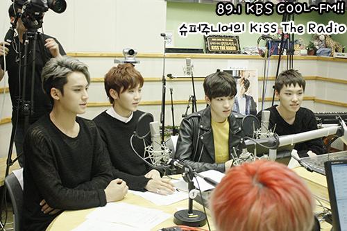 [OFFICIAL] 150917 KBS Kiss The Radio Update (Sukira) w Seventeen  #세븐틴 #SEVENTEEN 24