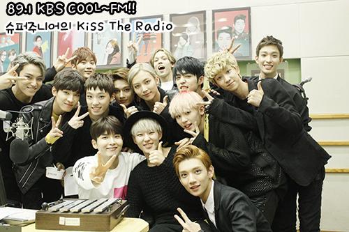 [OFFICIAL] 150917 KBS Kiss The Radio Update (Sukira) w Seventeen  #세븐틴 #SEVENTEEN 26