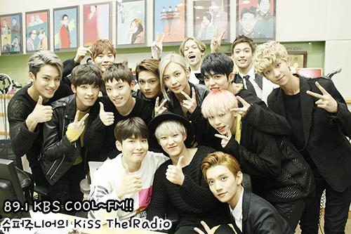 [OFFICIAL] 150917 KBS Kiss The Radio Update (Sukira) w Seventeen  #세븐틴 #SEVENTEEN 27