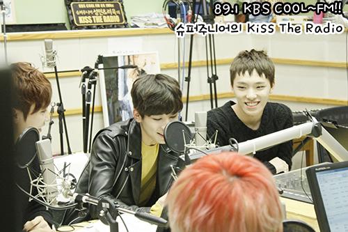 [OFFICIAL] 150917 KBS Kiss The Radio Update (Sukira) w Seventeen  #세븐틴 #SEVENTEEN 33