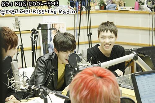 [OFFICIAL] 150917 KBS Kiss The Radio Update (Sukira) w Seventeen  #세븐틴 #SEVENTEEN 34