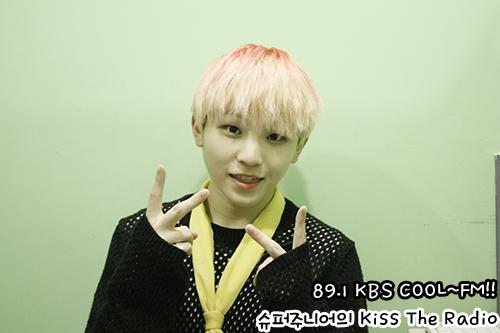 [OFFICIAL] 150917 KBS Kiss The Radio Update (Sukira) w Seventeen  #세븐틴 #SEVENTEEN 35