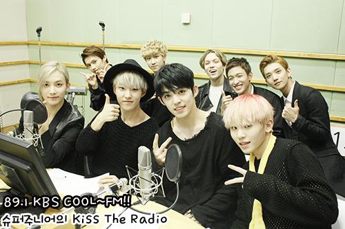 [OFFICIAL] 150917 KBS Kiss The Radio Update (Sukira) w Seventeen  #세븐틴 #SEVENTEEN 4