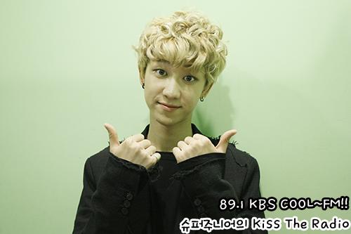 [OFFICIAL] 150917 KBS Kiss The Radio Update (Sukira) w Seventeen  #세븐틴 #SEVENTEEN 40