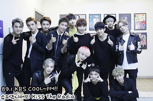 [OFFICIAL] 150917 KBS Kiss The Radio Update (Sukira) w Seventeen  #세븐틴 #SEVENTEEN 43