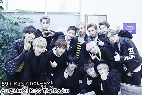 [OFFICIAL] 150917 KBS Kiss The Radio Update (Sukira) w Seventeen  #세븐틴 #SEVENTEEN 45