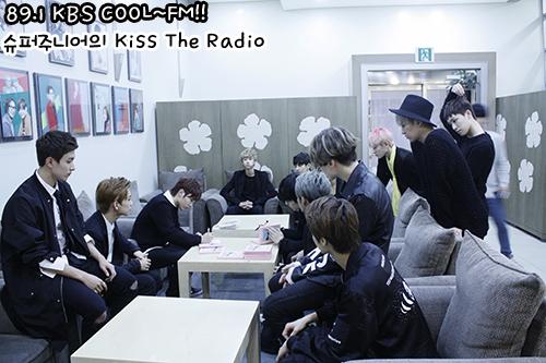 [OFFICIAL] 150917 KBS Kiss The Radio Update (Sukira) w Seventeen  #세븐틴 #SEVENTEEN 47