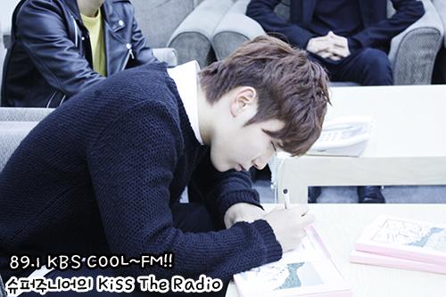 [OFFICIAL] 150917 KBS Kiss The Radio Update (Sukira) w Seventeen  #세븐틴 #SEVENTEEN 48