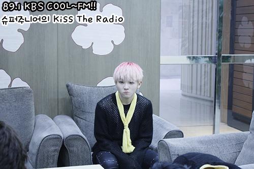 [OFFICIAL] 150917 KBS Kiss The Radio Update (Sukira) w Seventeen  #세븐틴 #SEVENTEEN 49