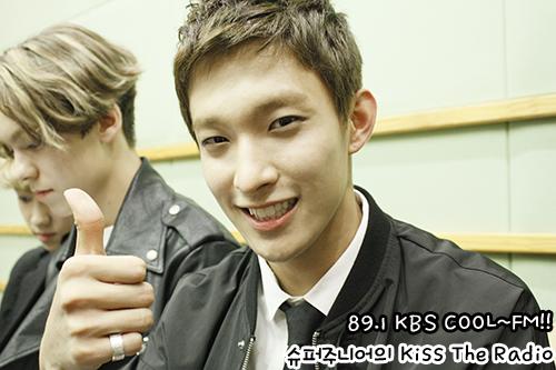 [OFFICIAL] 150917 KBS Kiss The Radio Update (Sukira) w Seventeen  #세븐틴 #SEVENTEEN 8