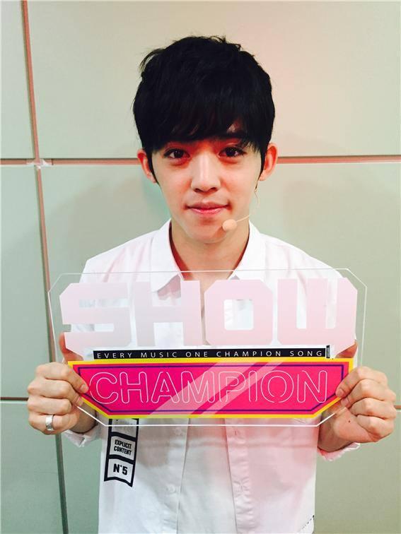 [OFFICIAL] 150917 MBC Plus Update 쇼챔피언 #세븐틴 #만세 13