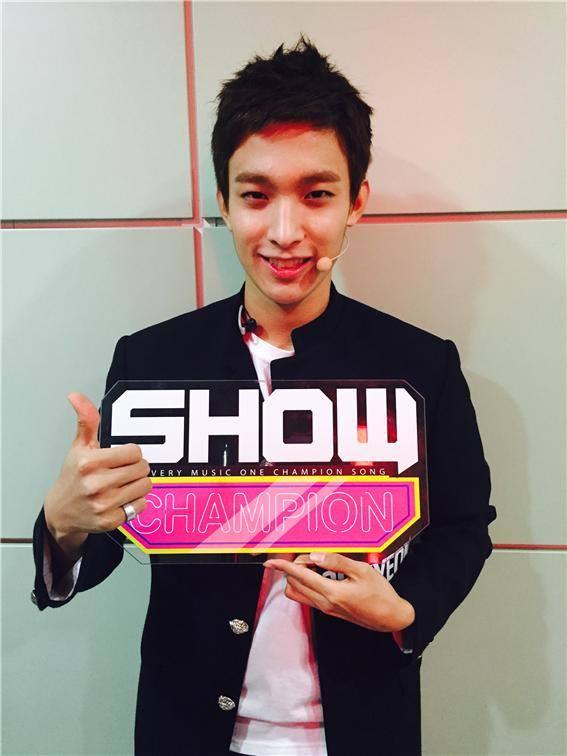 [OFFICIAL] 150917 MBC Plus Update 쇼챔피언 #세븐틴 #만세 2