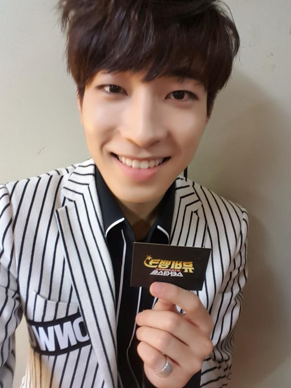[OFFICIAL] 150920 Music Video Bank Twitter Update #원우 2