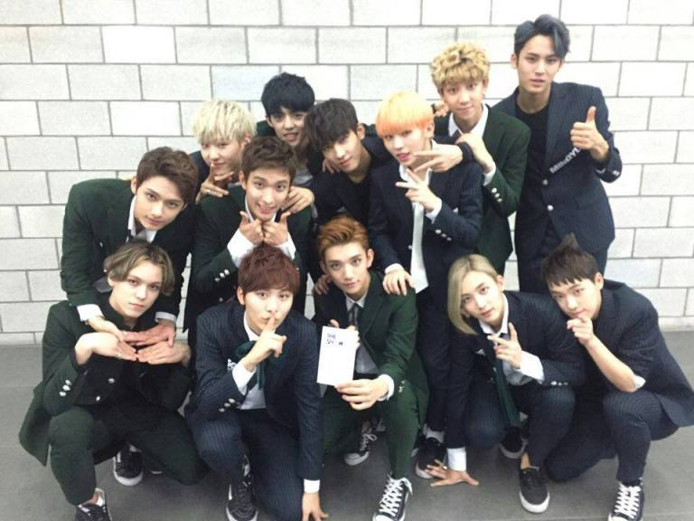 [OFFICIAL] 150922 SBS MTV The Show Twitter Update @SBS_MTV #만세 #세븐틴 #더쇼 2