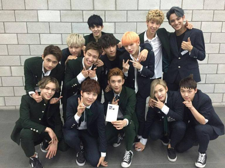 [OFFICIAL] 150922 SBS MTV The Show Twitter Update @SBS_MTV #만세 #세븐틴 #더쇼