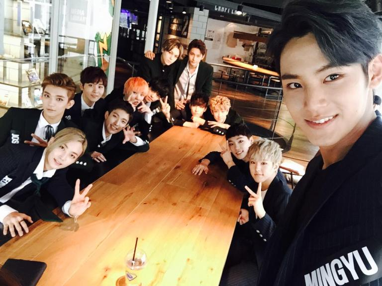 [OFFICIAL] 150925 Official Mwave Update #세븐틴 #만세 #BOYS_BE