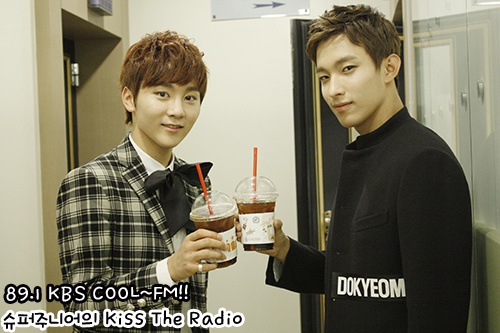 [OFFICIAL] 150928 KBS Kiss The Radio Update (Sukira) w Seventeen's DK and Seungkwan 4P #세븐틴 #도겸 #승관 1