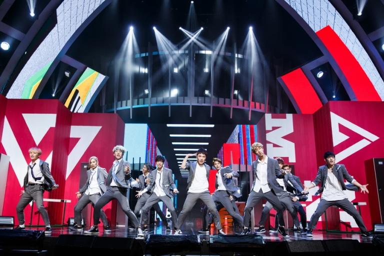 [OFFICIAL] Mnet America Update 150910 M Countdown #Seventeen - Rock + #Mansae #세븐틴 #만세 18