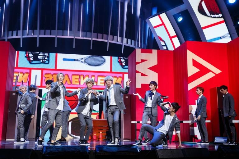 [OFFICIAL] Mnet America Update 150910 M Countdown #Seventeen - Rock + #Mansae #세븐틴 #만세 19