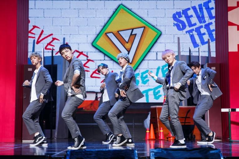[OFFICIAL] Mnet America Update 150910 M Countdown #Seventeen - Rock + #Mansae #세븐틴 #만세 5
