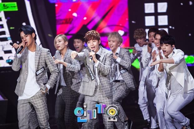 [OFFICIAL] SBS Inkigayo Update 150920 Seventeen Mansae 9P #세븐틴 #만세 8