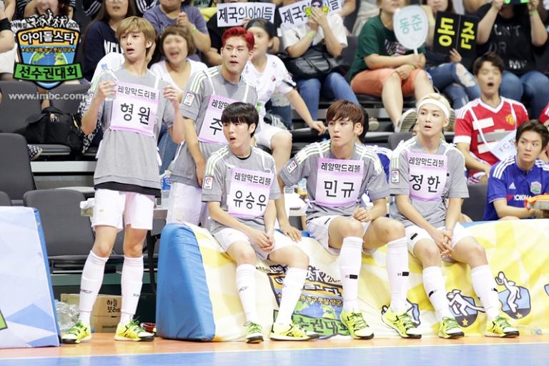 [OFFICIAL] Seventeen at MBC ISAC 2015 아이돌스타 선수권대회 #세븐틴 28