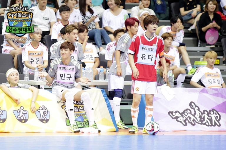 [OFFICIAL] Seventeen at MBC ISAC 2015 아이돌스타 선수권대회 #세븐틴 33