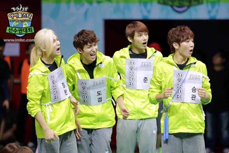 [OFFICIAL] Seventeen at MBC ISAC 2015 아이돌스타 선수권대회 #세븐틴 9