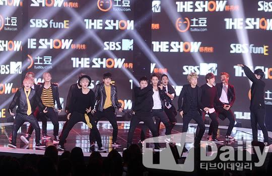 [PRESS] 150915 Seventeen at SBS MTV The Show @SBS_MTV #만세 #세븐틴 #더쇼 10