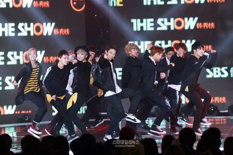 [PRESS] 150915 Seventeen at SBS MTV The Show @SBS_MTV #만세 #세븐틴 #더쇼 9