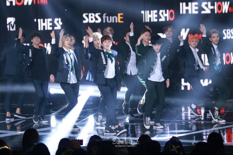 [PRESS] 150922 Seventeen at SBS MTV The Show @SBS_MTV #만세 #세븐틴 #더쇼 12