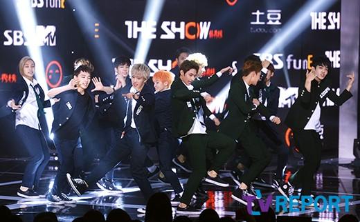 [PRESS] 150922 Seventeen at SBS MTV The Show @SBS_MTV #만세 #세븐틴 #더쇼 8