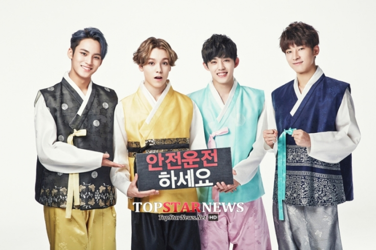 [PRESS] 150925 Seventeen Chuseok Greeting Pictorial #세븐틴 5