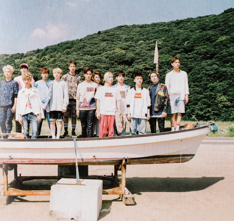 [SCANS] Seventeen 2nd Mini Album #BOYS_BE #세븐틴 #만세 2