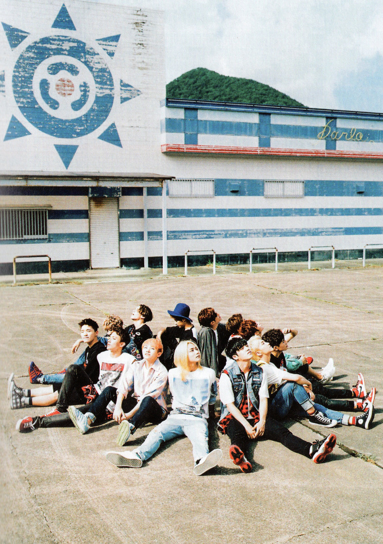 [SCANS] Seventeen 2nd Mini Album #BOYS_BE #세븐틴 #만세 5