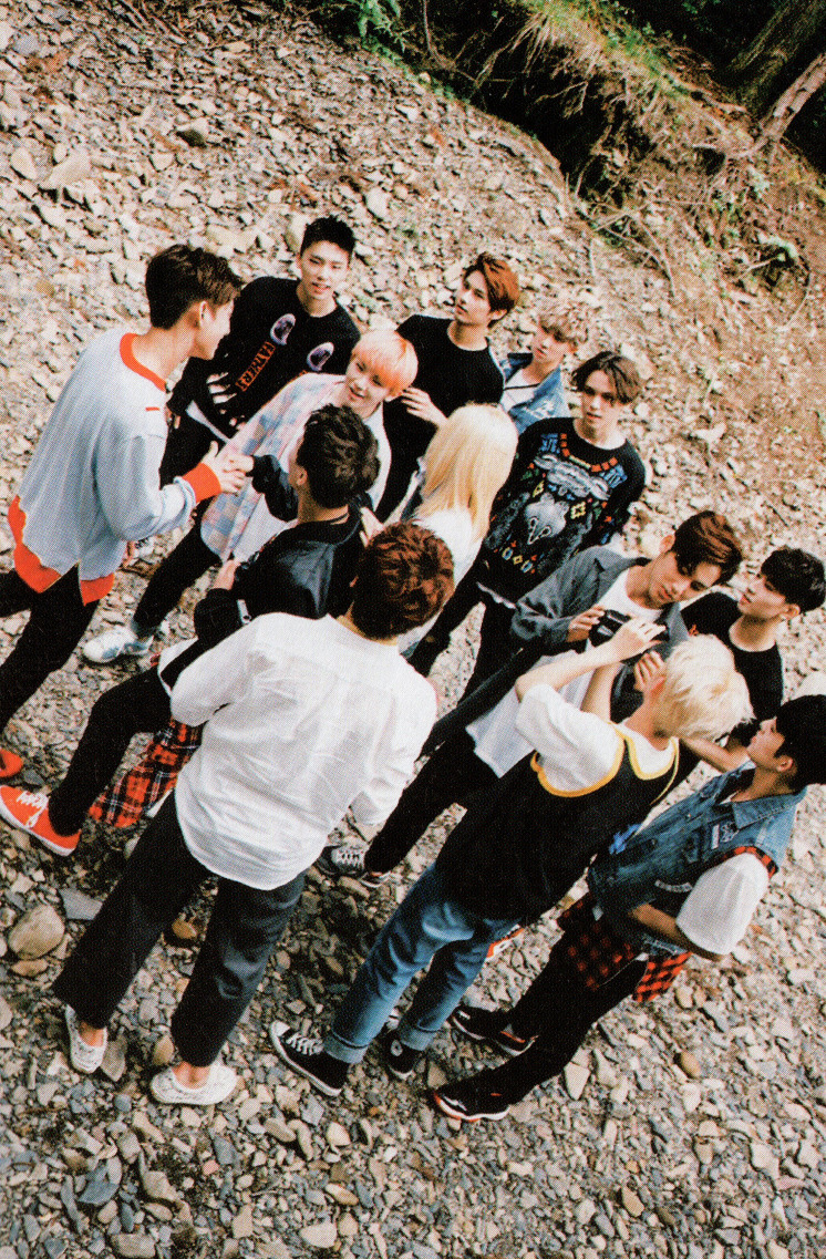 [SCANS] Seventeen 2nd Mini Album #BOYS_BE #세븐틴 #만세 8