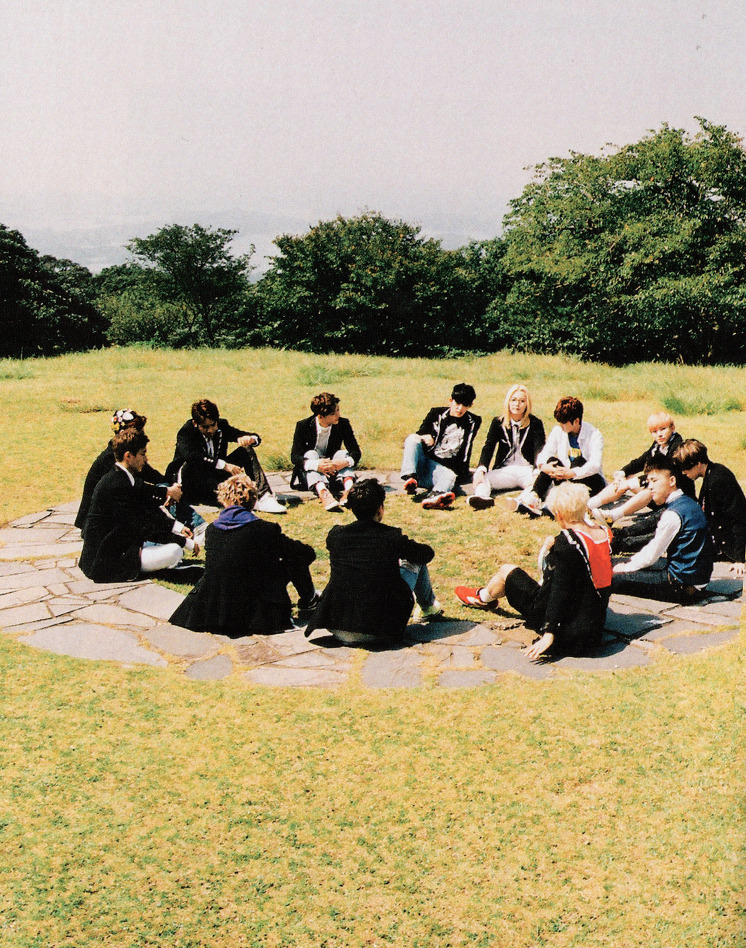 [SCANS] Seventeen 2nd Mini Album #BOYS_BE #세븐틴 #만세