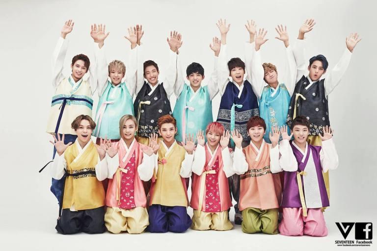 [SEVENTEEN SPECIAL PIC] 즐거운 추석 되세요! Happy CHUSEOK! 中秋节快乐! #SEVENTEEN #MANSAE 17