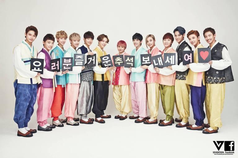 [SEVENTEEN SPECIAL PIC] 즐거운 추석 되세요! Happy CHUSEOK! 中秋节快乐! #SEVENTEEN #MANSAE 18