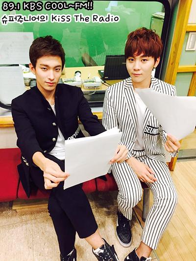 [OFFICIAL] 151001 KBS Kiss The Radio Update (Sukira) w Seventeen's DK and Seungkwan 3P #세븐틴 #도겸 #승관 2