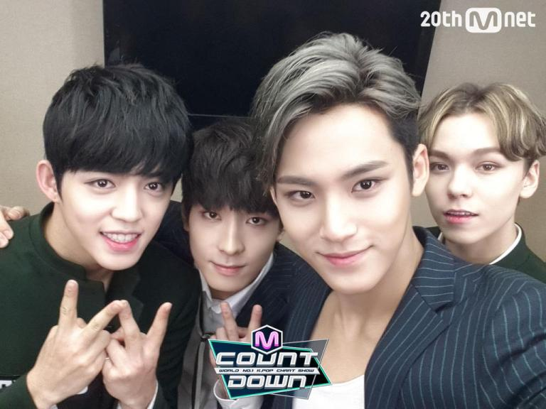 [OFFICIAL] 151001 MCOUNTDOWN Twitter Update #세븐틴 #만세 1